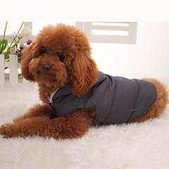 Casaco com Capuz para Cachorros (XS-XL)