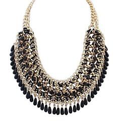 Dam Uttalande Halsband Kraghalsband Smycken Legering Mode Europeisk kostym smycken Smycken Till Party Speciellt Tillfälle Födelsedag