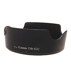 מכסה העדשה הפיך EW-63c dengpin® עבור Canon EF-S 18-55mm f / 3.5-5.6 IS עדשת STM 700d 100D x7i 18-55 STM העדשה