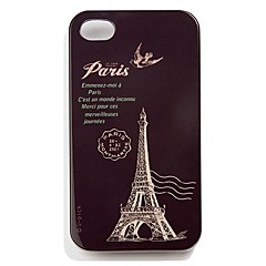 Eiffel Tower PC Hard Case For iPhone 4/4s