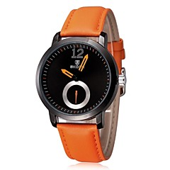 Men Watch Luxury Brand Quartz Dial Sport Watch 2014 Leather Strap Brief Elegant Male (Assorted Colors)