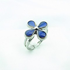 Korean Version Clover Magic Magic Mood Ring