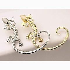 Fashion Ms Drill Gecko Stud Earrings Ears Hang(1PC)