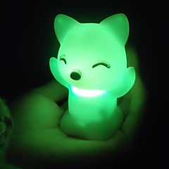 Coway i gatti volpe colorata Nightlight led