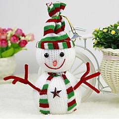 Noël fournit des bidules de bonhomme de neige classiques