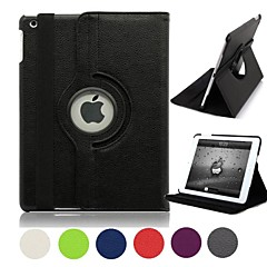 Natusun™ 360 Degree Rotating PU Leather Covered include Back Case Full Body Casel for iPad Mini 3(Assorted Colors)