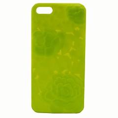 3d relevo casos rosas de telefone para iphone5 / 5s (cores sortidas)