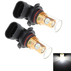 2Pcs 9005 8W 8x Samsung 2323 SMD 450LM 6000K White Light LED for Car Turn Steering / Reversing Lamp (DC 12-24V)