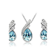 Women's Elegant Diamante Jewelry Sets