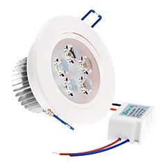 zdm ™ 5W 5 υψηλής ισχύος οδήγησε 350 lm ζεστό λευκό / δροσερό λευκό / φυσικό λευκό οδήγησε φώτα οροφής AC 220-240 V