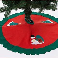 90cm Kerstmis Schort laorenshu rok (assorti kleur)