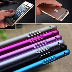 ultra cienka aluminiowa klamra metalowa obudowa otwarta zderzaka pokrywa dla iphone 6s 6 plus