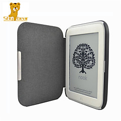 Shy Bear™ Smart PU Leather Cover Case for Nook 4 Glowlight E-book Reader