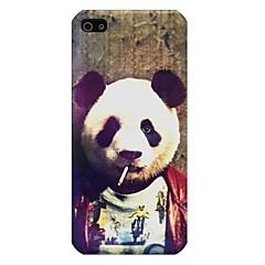 patrón panda de nuevo caso para iPhone5 / 5s