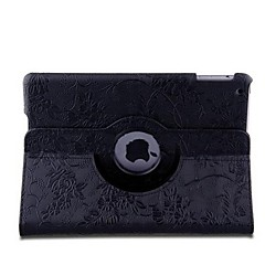 Grape Pattern PU Leather Full Body Case with 360 ° Rotation Strap for iPad Air(Assorted Colors)