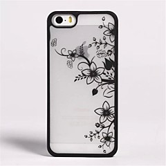 Relief   Pattern  PC  Soft Cover for iPhone 5/5S (Assorted Colors)