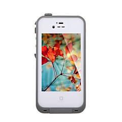 vesitiivis iskunkestävä likaa todiste kestävä tapauksessa kattaa Apple iPhone 4 / 4S (valikoituja väriä)