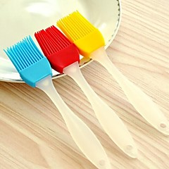 High Temperature Resistant Rubber for Barbecue Soft Brush(Random Color)