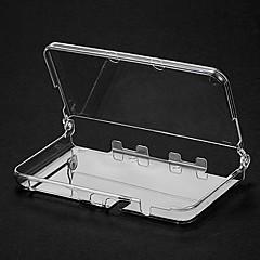 caso de cristal para nova capa protetora transparente 3ds