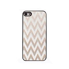 White Ripple Design Aluminium Hard Case for iPhone 4/4S