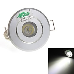 Zweihnde 1W 1 Dip LED 90 LM Natuurlijk wit Verzonken ombouw Decoratief Plafondlampen AC 85-265 V