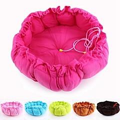 comodo zucca a forma di doppio scopo nido e cuscino per cani da compagnia (a colori assortiti) 45x45x15cm