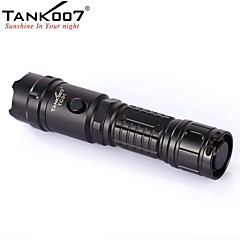 LED Flashlights / Handheld Flashlights LED 5 Mode 420 Lumens Waterproof / Rechargeable / Nonslip grip / Strike Bezel Cree XP-G R5 18650