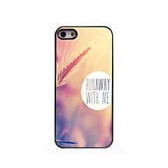 Dusk Grass Design Aluminium Hard Case for iPhone 4/4S
