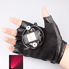 LT-650 gant pointeur laser rouge (4mw, 650nm, batterie de 1xlithium, noir)