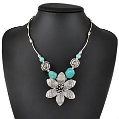 Dames Turkoois Bloemvorm Turkoois Kostuum juwelen Sieraden Voor