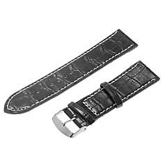 Women's 24mm PU Leather Watch Band