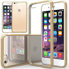 Para Funda iPhone 6 / Funda iPhone 6 Plus Antigolpes / Transparente Funda Cubierta Trasera Funda Un Color Suave SiliconaiPhone 6s Plus/6