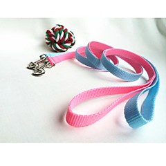 Cat / Dog Leash Waterproof Blue / Pink Nylon