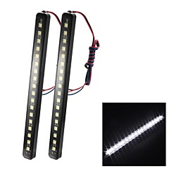 merdia 8W 100lm 18x5050smd led wit licht auto strip licht (paar / 12v)