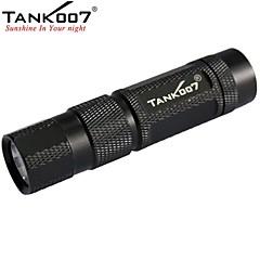 tank007® m20 1-tilassa 1x Cree XR-e q5 johdolla magneettinen työpäivän taskulamppu (160lm, 1xAA / 1x14500, musta)
