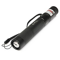 LT-G303  Adjustable Focus Green Laser Pointer(5MW. 532nm. 1*18650.Black)