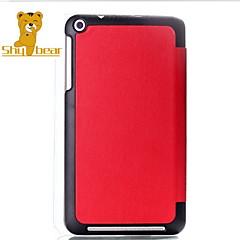 genert bjørn ™ originalt læder cover stander sag til Asus notesblok me181c 8 tommer tablet