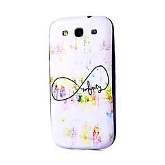 Infiniti Pattern Thin Hard Case Cover for Samsung Galaxy S3 I9300