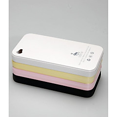 Luphie Hard Plastic Back Case for iPhone 4 /4S (Assorted Colors)