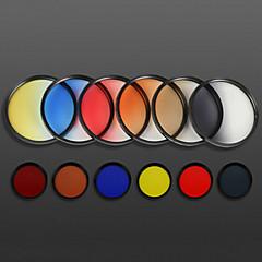 82mm diplômé mornview 3-en-1 filtre de couleur pour Nikon canon chanson olympus