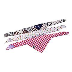 moda collar de la bufanda del triángulo para mascotas perros