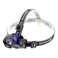 Jujingyang JY-3303 Waterproof Single-mode 1xCree 3W Headlamp(160LM,3xAAA,Blue)