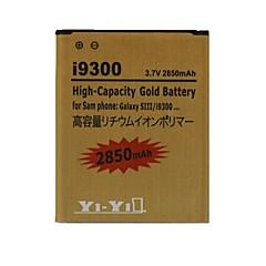 batteria ricaricabile 3.7v 2850mAh ricaricabile yi-yi ™ per la galassia s3 i9300