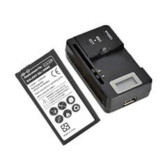 """삼성 갤럭시 S5 / i9600 0.8 """"LCD 배터리 충전기와 교체 3.8V의 4200mah 배터리"""
