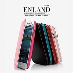삼성 S3 I9300에 대한 홍보 여덟 일 시리즈 전화 가죽 케이스 (모듬 색상)