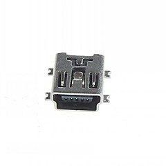 Mini 5-Pin SMD USB Socket (20PCS)