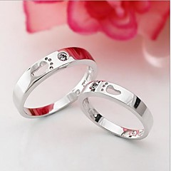 925 Sterling Silver Your Feet Couple Rings A Pair To Sell
