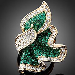 Statementringen Legering imitatie Diamond Modieus Smaragd Fuchsia Lichtblauw Sieraden Feest 1 stuks