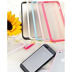 tpu vakuutus carry stentti jauhaa arenaceous seuraavat iPhone 4 / 4s (valikoituja väriä)