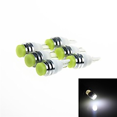 T10 1W 120 LED White  Light Car Clearance Turn Signal Corner / Signal Lamps (DC 12V / 6PCS)